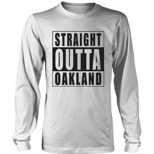 Straight Outta Oakland White