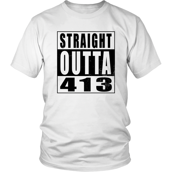 Straight Outta 413 - Black