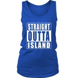 Straight Outta Island Womens Tank