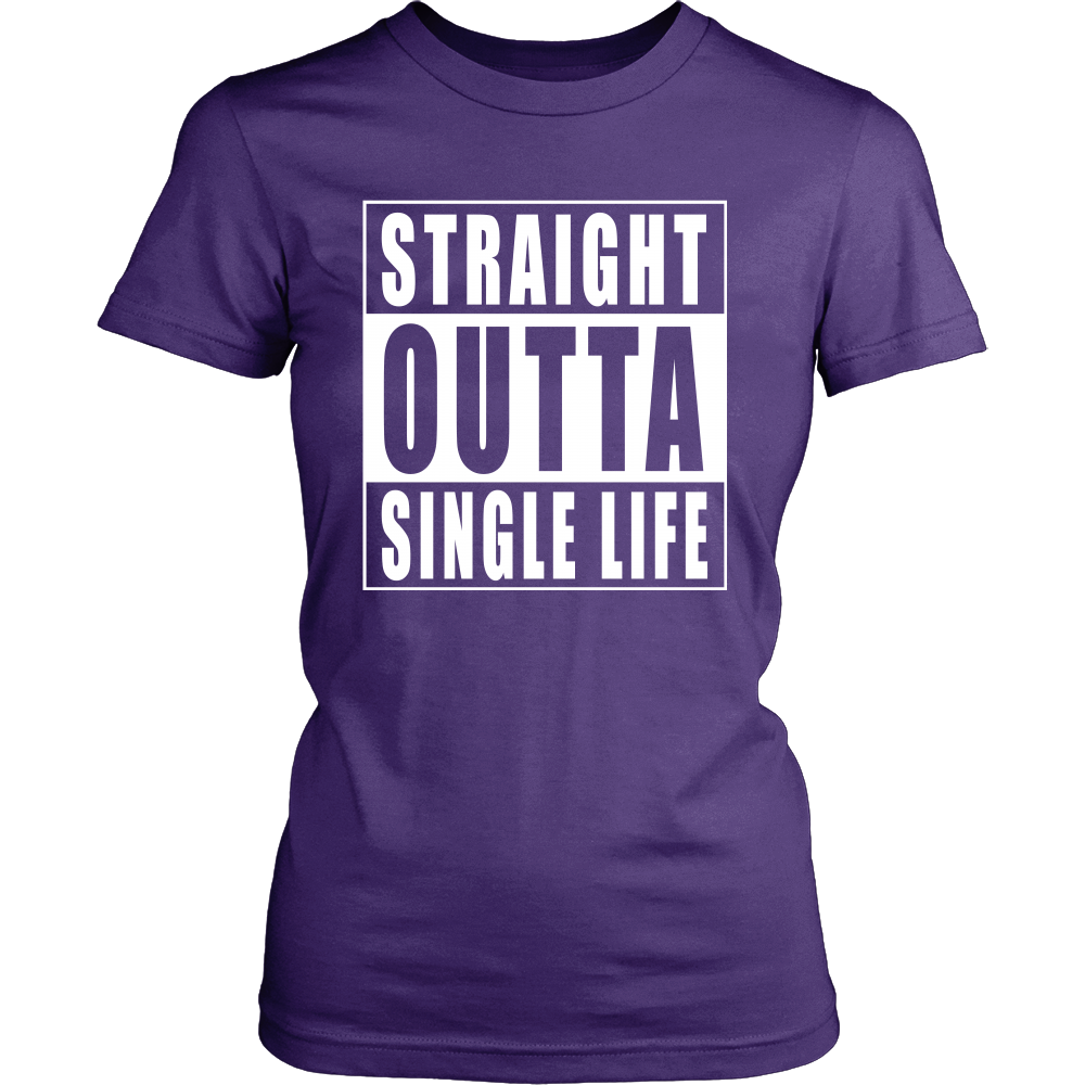 Straight Outta Single Life Bride