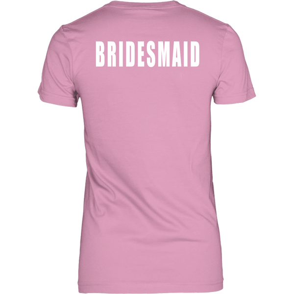 Straight Outta Single Life Bridesmaid