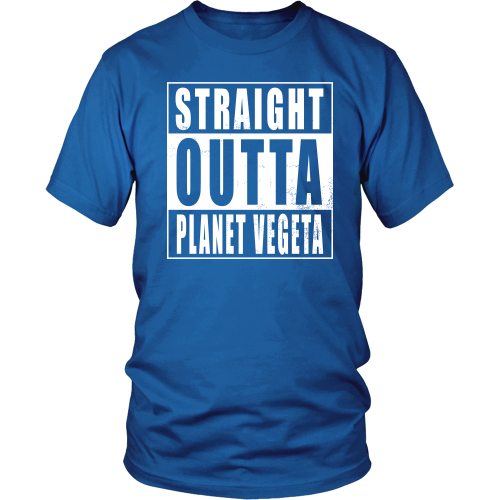 Straight Outta Planet Vegeta