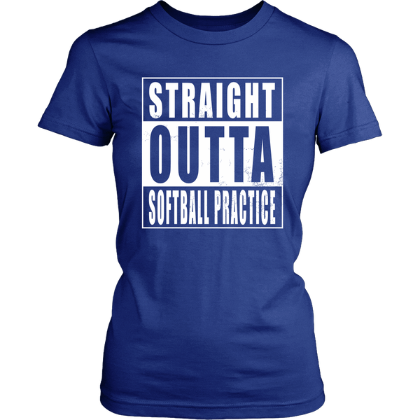 Straight Outta Softball Practice