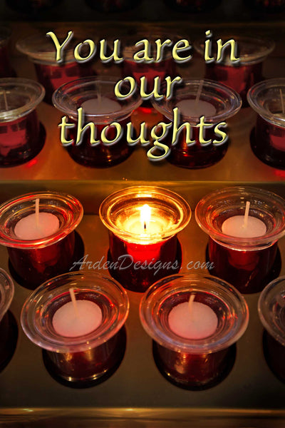Candle  (Our Thoughts)