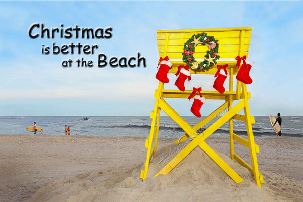 Christmas is Better at the Beach - 12 Cards