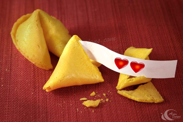 Fortune Cookie-Two Hearts