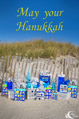 Hanukkah at the Beach