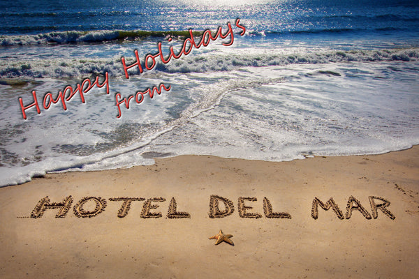 Happy Holidays from Hotel Del Mar - 100 Card Custom Order