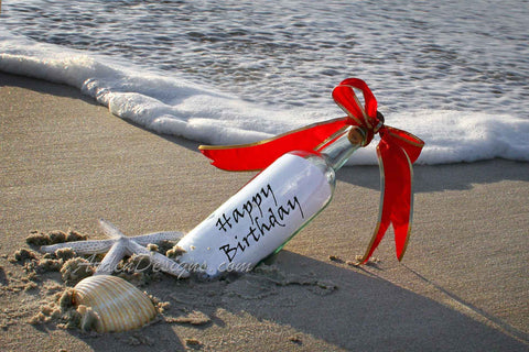 Message in a Bottle - Birthday
