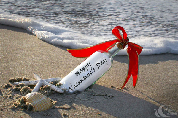 Message in a Bottle - Happy Valentine's Day