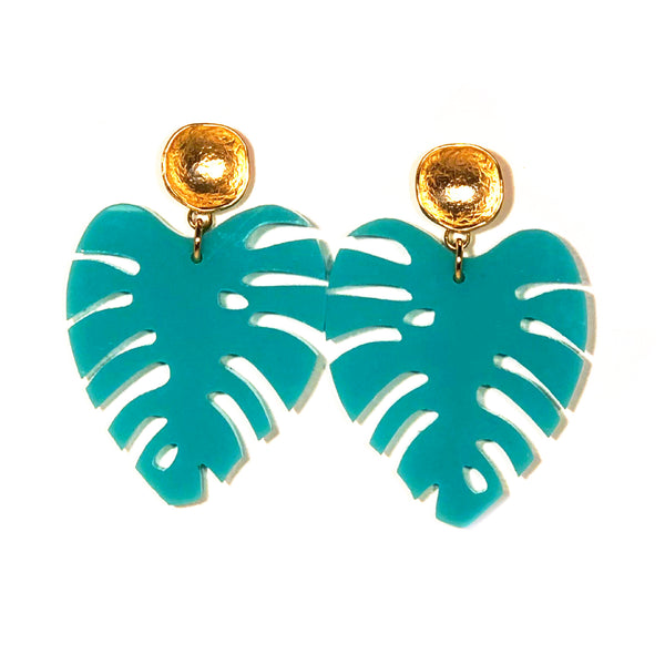 The Leaf - Small, Green, Turquoise or White