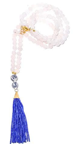Double Happiness Tassel Necklace