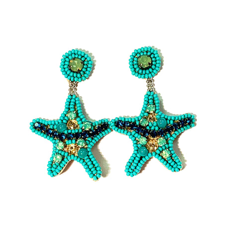 Starfish in Turquoise