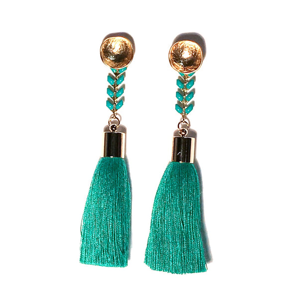 Cove Tassel Earrings - other colors available