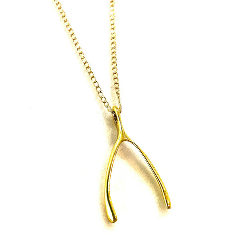 WISHBONE Necklace, Small