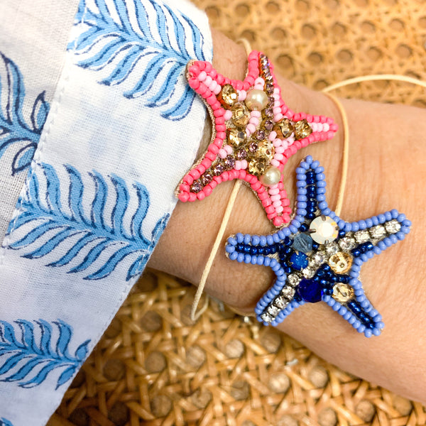 Starfish Bracelet! Four colors!