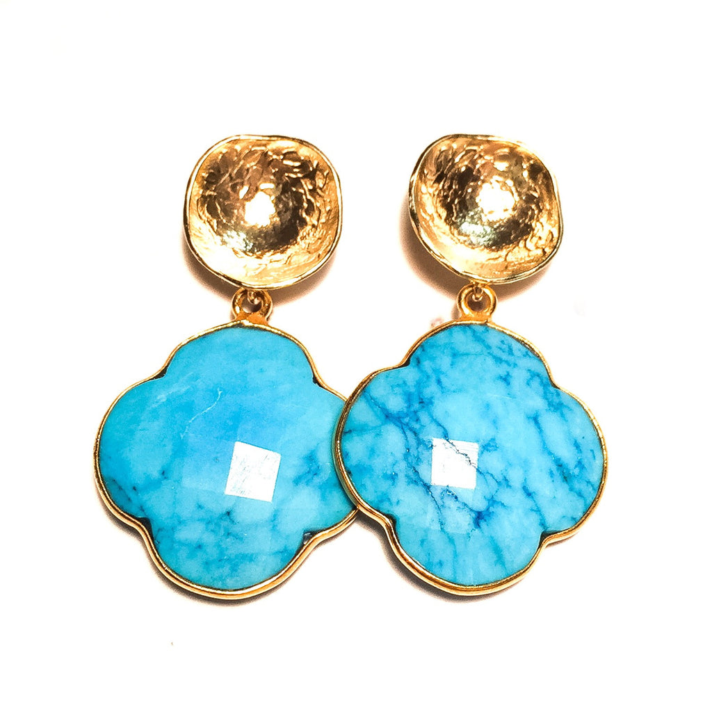 EMMA Earrings in Turquoise
