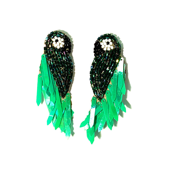Parrot Earrings! So many colors!