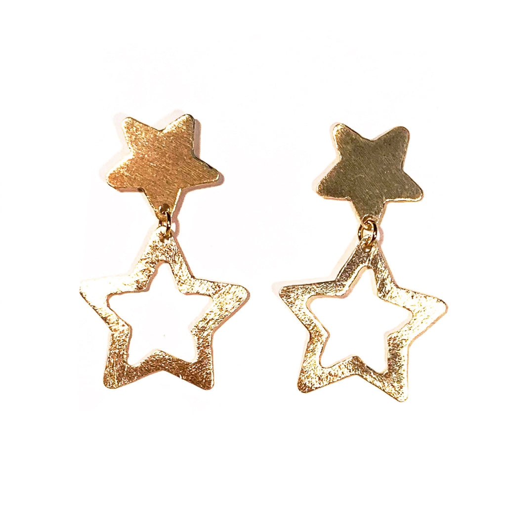 STAR Earrings - Large and Small