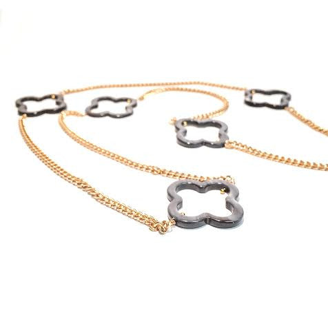 MARNIE Quatrefoil Necklace