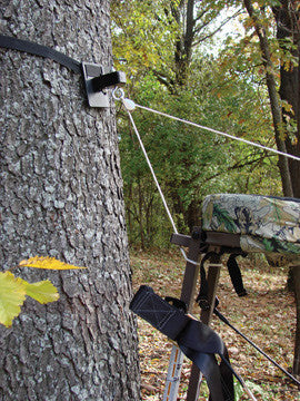 E Z Up Treestand Pulley System Pine Ridge Archery