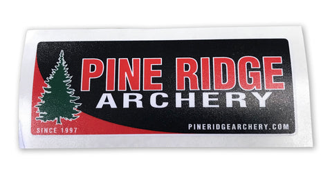 Pine Ridge Archery Logo Decal