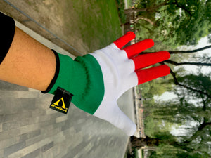 Limited Edition TriColor WrapGlove® GREEN WHITE & RED