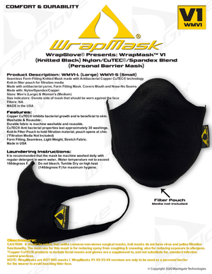WrapGlove® WrapMask
