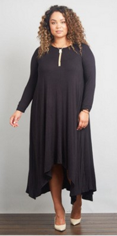 Maxi Swing Dress with Pockets