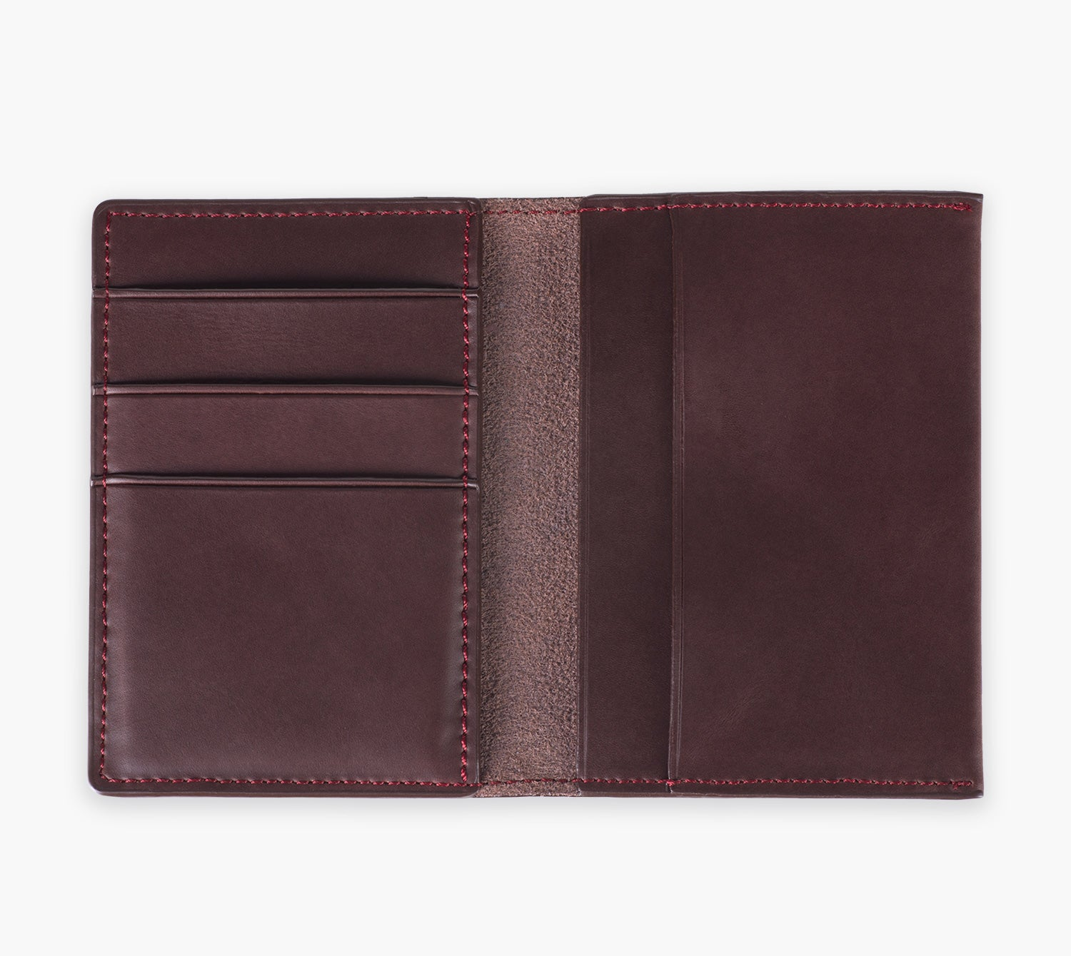 Slim Leather Wallet (Cioccolato)