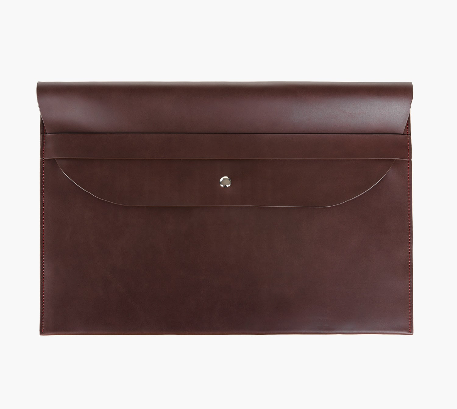 Slim Leather Laptop Sleeve (Cioccolato)