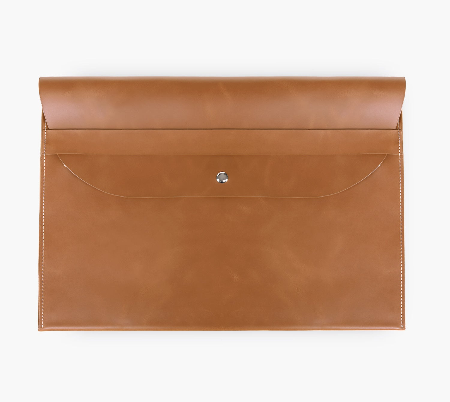 Slim Leather Laptop Sleeve (Vintage)