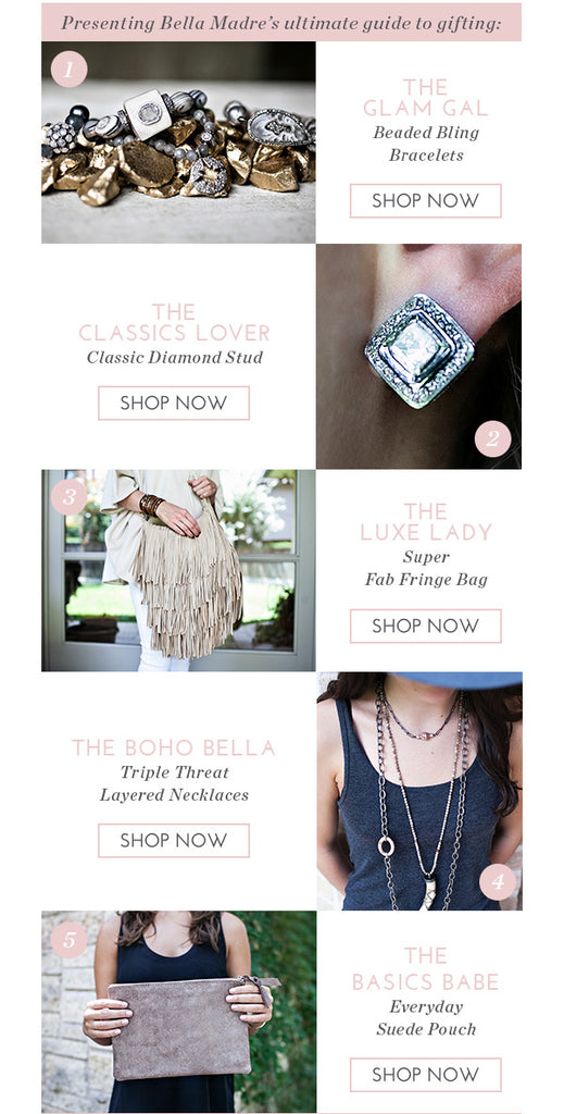 Bella Madre Holiday Gift Guide