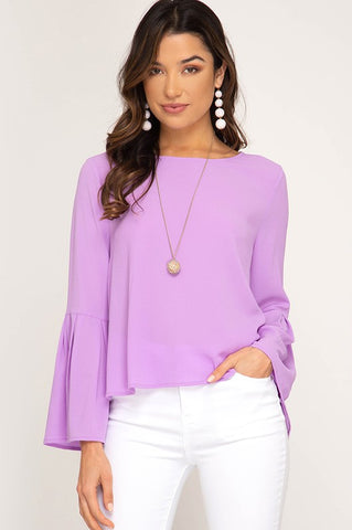 BELLADONNA Lavender Top