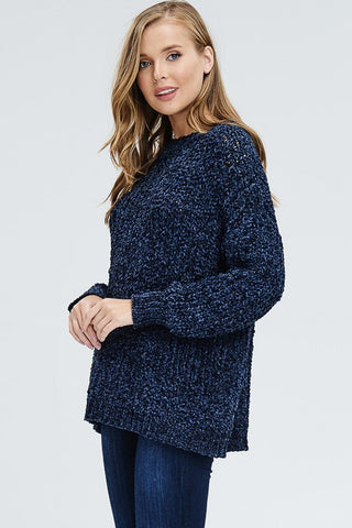 DREAM KNIT Crocheted Sweater