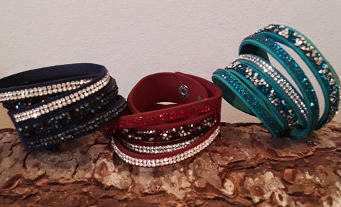 ROCKSTAR SHOWCASE Wrap Bracelet