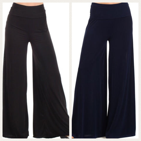 BOOGIE NIGHTS Wide Leg Palazzo Pants