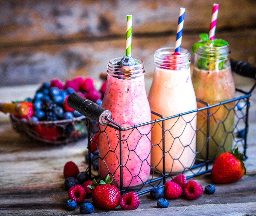 OUR smoothie RECIPES HAVE SPICE POWER!