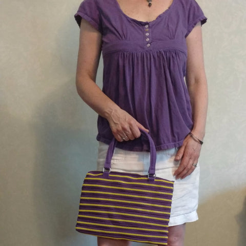 Zippy handbag, short