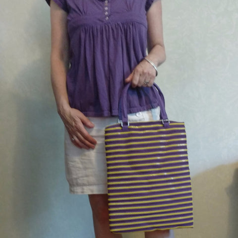 Zippy handbag, long