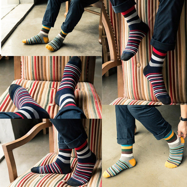 5-pack Calcetines Happy Paul Crazy Smith Socks baratos Caballero