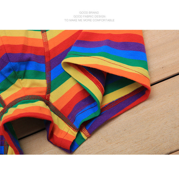 Boxer Does Chic Gay Pride Rainbow Arcoiris Gogo Boy Trusa Braga Orgullo LGBT