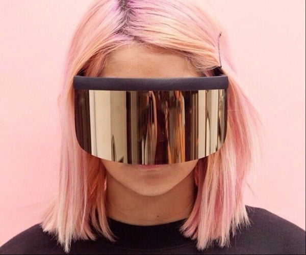 Gafas Sol Photochromic Moda Mask Fashion Súper Cool Vanguardista Daft Punk Diseñador Oculos