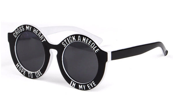 Gafas de Sol Extra-Grande Lentes XL Cross My Heart Hope to Die - Stick a Needle in My Eye
