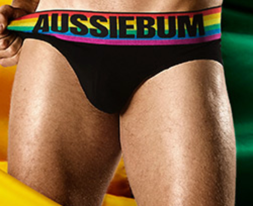aussieBum Calzoncillo del Orgullo Gay Pride Resorte Rainbow Arcoiris