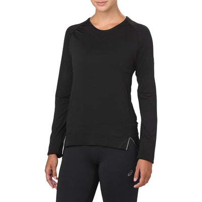 ASICS W LONG SLEEVE WIND TOP