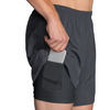 "BROOKS SHERPA 7"" 2IN1 SHORT"