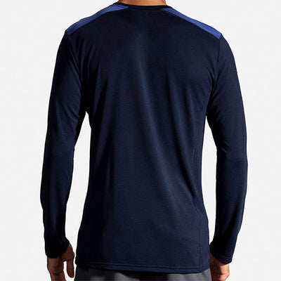 BROOKS DISTANCE LONG SLEEVE - HOMME