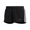 ADIDAS PACER 3-STRIPES KNIT SHORTS - FEMME