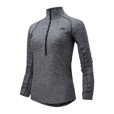 NEW BALANCE TRANSFORM 1/2 ZIP - FEMME